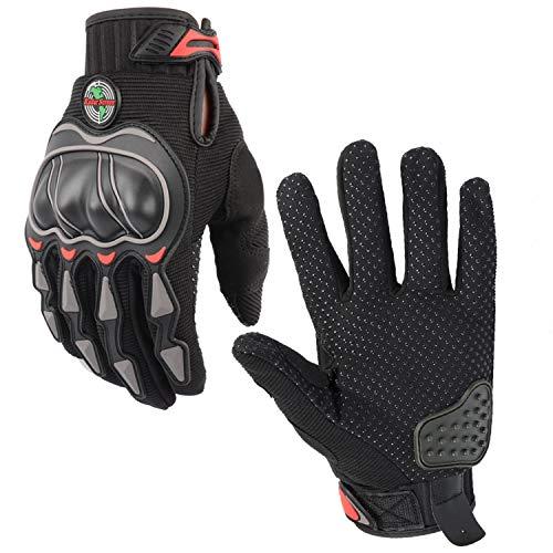 Radar Screen Motorcycle Gloves Full Finger Motocross Sports Gloves BMX Racing Mountain Bike Cycling Gloves