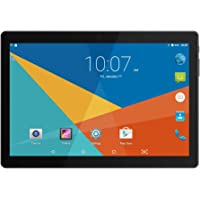 """10"""" Inch Google Android Tablet,PADGENE Android7.0 Phablet Tablet Quad Core Pad with Dual Camera, 1GB Ram+16GB Disk, Wifi, Bluetooth, 1280x800 HD IPS screen, Google Play (QT-10 Black)"""