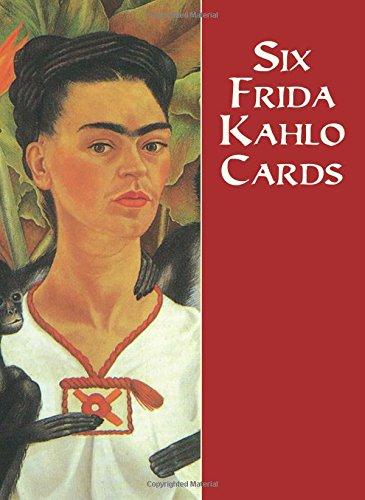 Six Frida Kahlo Cards (Dover Postcards) - Frida Kahlo Postcard