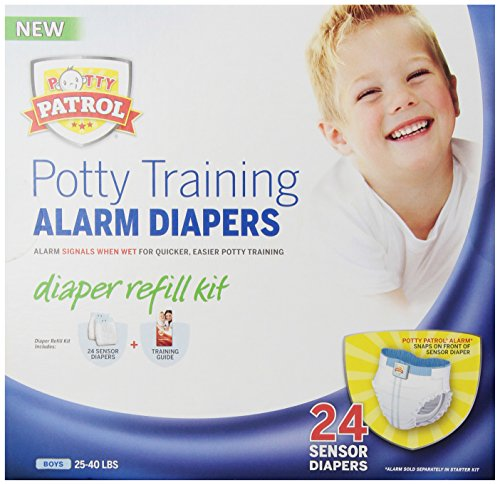 Potty Patrol Boys Diaper Refill Kit, 24 Count