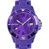 PICONO Purple Time and Date Water Resistant Analog Quartz Watch - No. 03