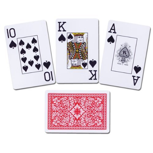 Royal Low Vision Playing Cards - 2 Decks All Plastic