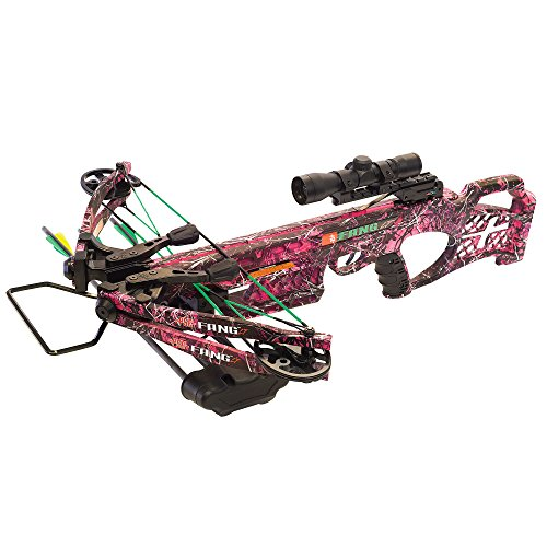 PSE Muddy Girl Camo Fang 330fps LT Crossbow Package 01320MG