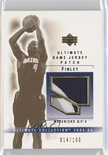 - Michael Finley #14/100 (Basketball Card) 2003-04 Upper Deck Ultimate Collection - Game Jersey Patch #MF-P