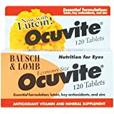Bausch & Lomb Ocuvite with Lutein 120 Tabs