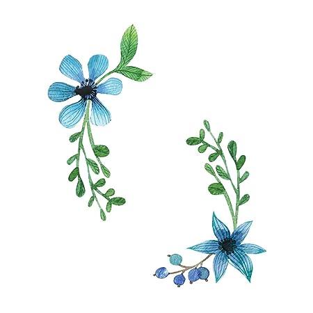 Kanggest.Etiqueta de la Ventana de Navidad con Flores Pegatinas ...
