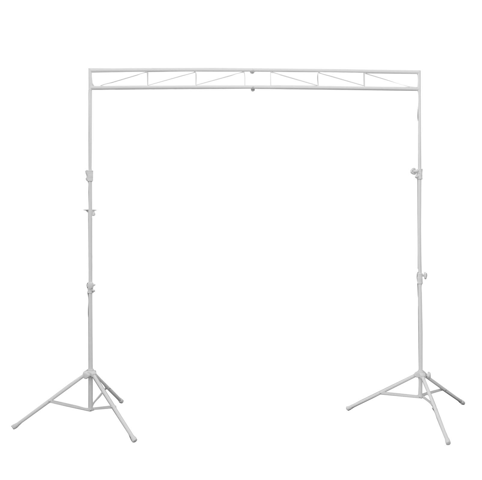 Odyssey LTMTS8WHT MTS-8 Compact Lighting Mobile Truss System