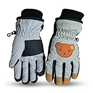 Amazon.com : SHLMM Cute Waterproof Ski Gloves Winter Warm