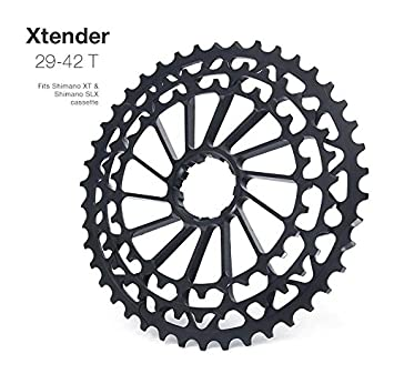 1ab2f5716b4 Garbaruk Extension Sprocket Cassette 29 Inches 42D Shimano Sprockets Spare