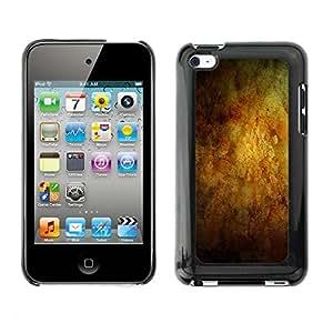 Print Motif Coque de protection Case Cover // M00154960 La textura de fondo amarillo-naranja // Apple ipod Touch 4 4G 4th