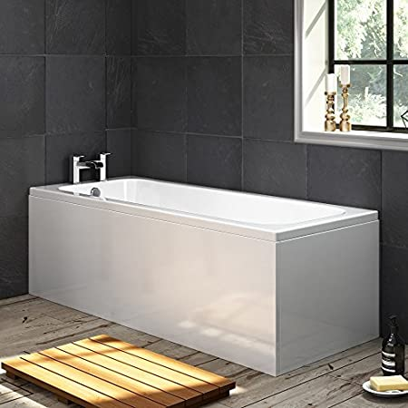 1700mm Luxury Large Single Ended Bath Straight Bathroom Bathtub ...
