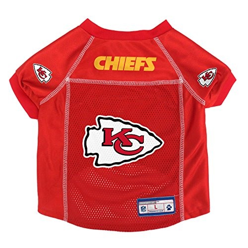 NFL Kansas City Chiefs Pet Jersey, (Kansas Jersey)