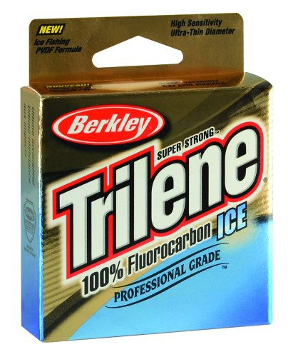 Berkley Trilene Fluorocarbon 2 Ice Fishing Line, Clear