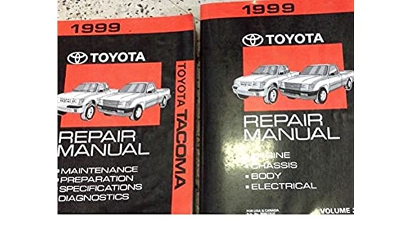1999 toyota tacoma repair manual