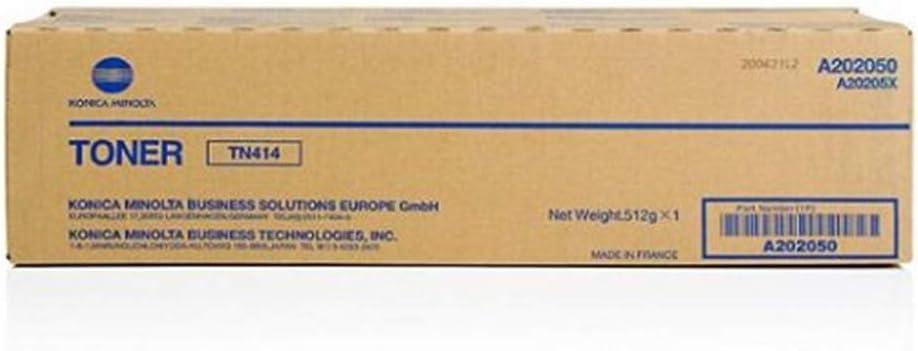 Genuine Konica Minolta Toner Cartridge TN414 for Bizhub 363 and Bizhub 423