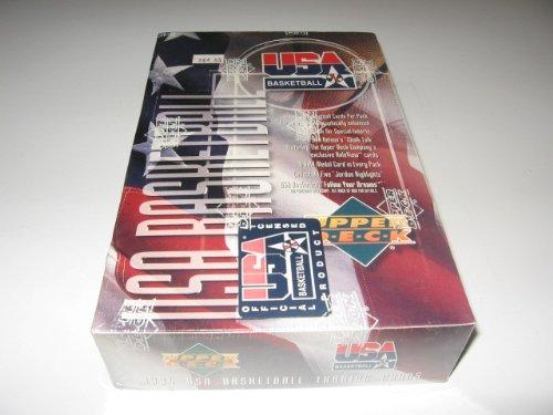 (1994/95 Upper Deck USA Basketball Box)