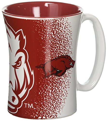 NCAA Arkansas Razorbacks Mocha Mug, 14-ounce ()