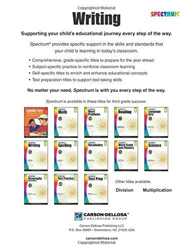 Spectrum Writing, Grade 3: Spectrum: 9781483811987: Amazon.com: Books