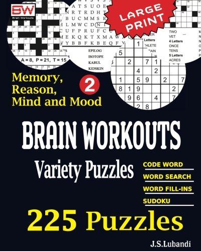 BRAIN WORKOUTS Variety Puzzles 2 (Volume 2)