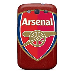 AlissaDubois Samsung Galaxy S3 Comfortable Phone Hard Covers Unique Design Fashion Arsenal Similar Skin [BSC9965NjsB]