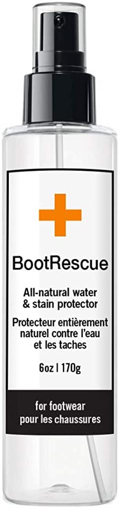BootRescue Protector Spray - 6 oz for Leather, Suede and Fabric: Shoes
