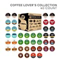 Variety Packs Green Mountain Coffee Keurig Coffee Lover's Single-Serve K-Cup Sampler, 40 Count