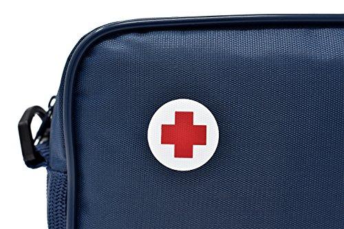 Botiquín Sans, Botiquín de primeros auxilios, Nylon, Azul 3