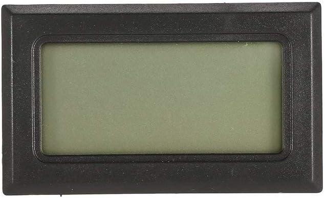 Leoboone igrometro mini display digitale tester con sonda integrata temperatura e umidit/à termometro elettronico