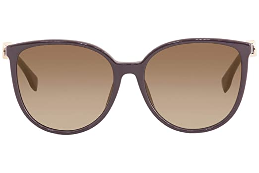 6a4255376d4 Amazon.com  Fendi Women s FF0310FS FF 0310 F S 0T7JL Plum Fashion Square  Sunglasses 58mm  Clothing