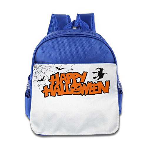 XJBD Custom Superb Halloween Teenager School Bagpack For 1-6 Years Old RoyalBlue (Tales Of Halloween Trailer)