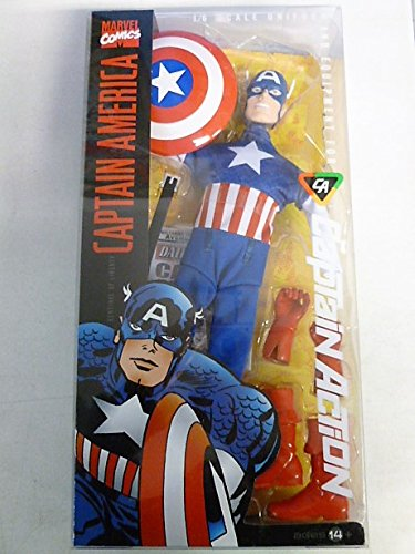 2011 Marvel Comics Captain America 1/6 Uniform and Equipment for Captain Action