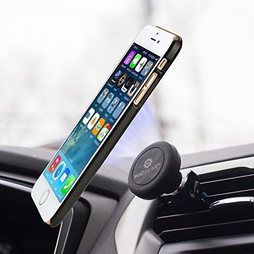 Magnetic-Mount-WizGear-Universal-Twist-lock-Air-vent-Magnetic-Car-Mount-Holder-for-Cell-Phones-and-Mini-Tablets-with-Fast-Swift-snap-Technology-Twist-Lock