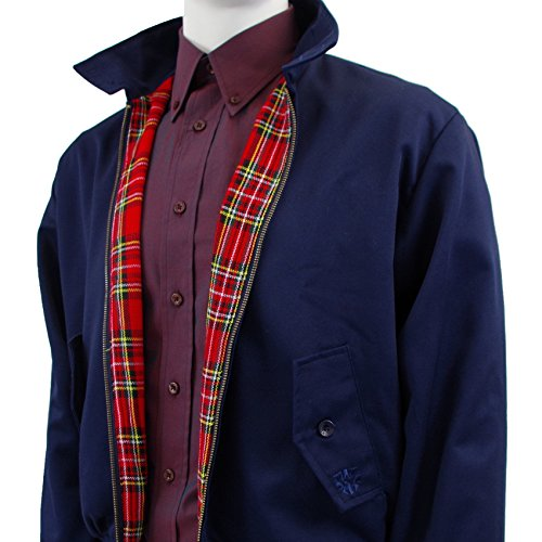 color original Warrior Chaqueta de azul marino Harrington pyqI4z