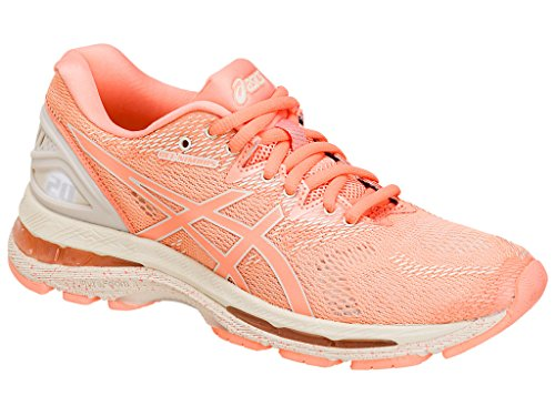 ASICS Women's Gel-Nimbus 20 Running Shoe, Cherry/Coffee/Blossom, 11 Medium US