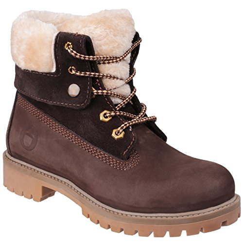 Boots Ladies Cotswold Womens Ankle up Waterproof Brown Arlingham Lace np50R57qw
