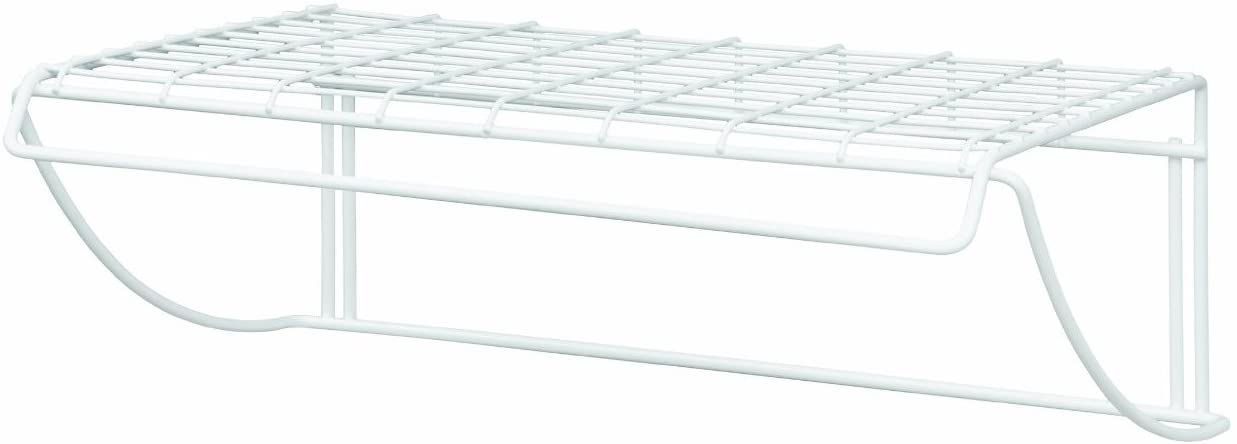 ClosetMaid 8278 18-Inch Wide Laundry Utility Hanger Shelf