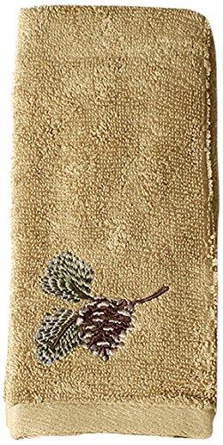 (SKL Home Pinehaven Fingertip Towel, Wheat)