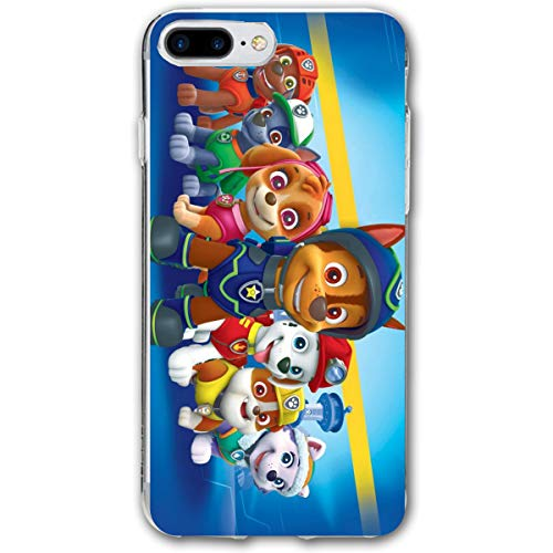 iPhone 7/8 Plus Paw Patrol Dogs Marshall Rubble Chase Rocky Zuma Skye Everest Cases for Apple