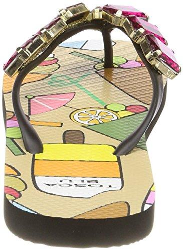 Blu Chaussures Fuchsia C22 de Plage et Rose Piscine Party Tosca Femme Cocktail Z16wdqAAx