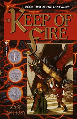 book cover of The Keep of Fire