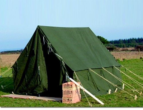 ARMY TENT US SMALL WALL 2 70x2 70 M OLIVE