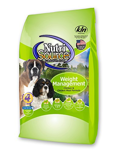 Tuffy'S Pet Food 131530 Nutrisource Weight Management Dog Food, 30-Pound ()