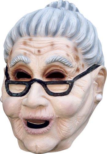 Old Lady Mask (Grandma Old Woman Mask)