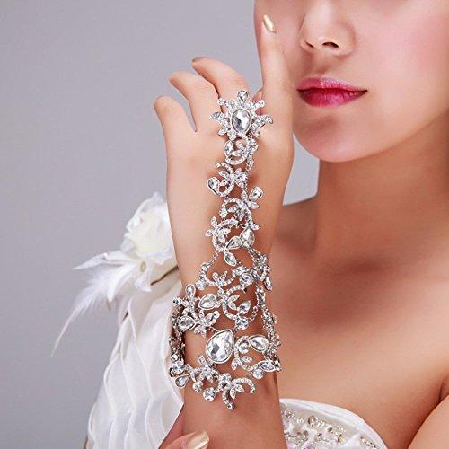 (Bella-Vogue -Diamond arm chain wedding dress accessories-NO.400)
