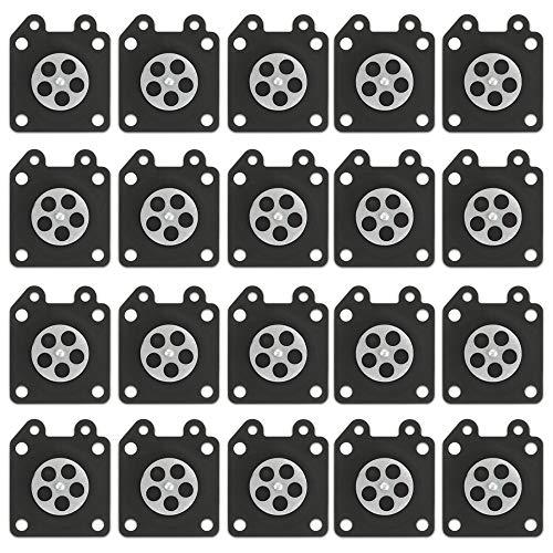 (Kaymon 95-526-9 (10 Pack) Carburetor Gasket Metering Diaphragm for Walbro 95-526 95-526-9-8 WA, WT, WTA, WY, WYJ, WYK, WYL, WYM, WYP and WZ Carburetor)