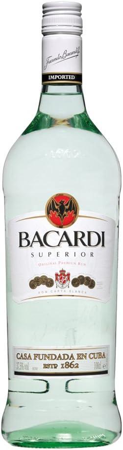 Bacardi 1 Litro Plastico: Amazon.es: Alimentación y bebidas
