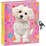 Peaceable Kingdom-Doodle Dog-Lock and KeyDiary