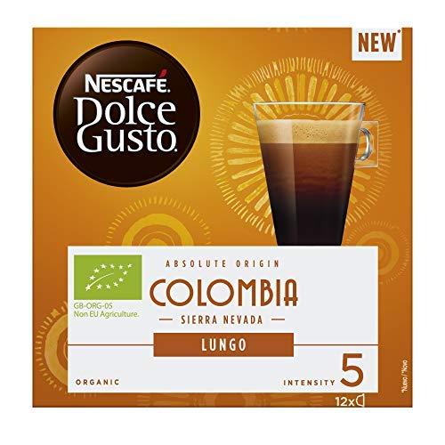 Nescafé Dolce Gusto - Café Origen Colombia - 3 Paquetes de 12 Cápsulas - Total: 36 Cápsulas: Amazon.es: Alimentación y bebidas