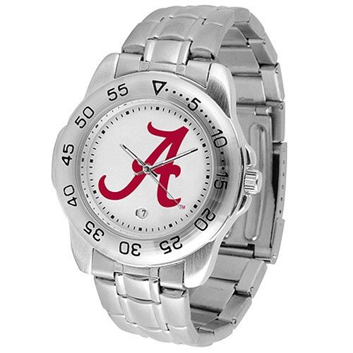 Alabama Crimson Tide Sport Steel Men's (Alabama Sport Watch)