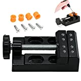drill press mini - Eyech Small Carving Vise for Drill Press/ Carving Clamp for DIY Crafts& Fixing Items Mini Bench Vice Parallel-jaw Vice